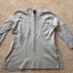 Grey J Crew sweater